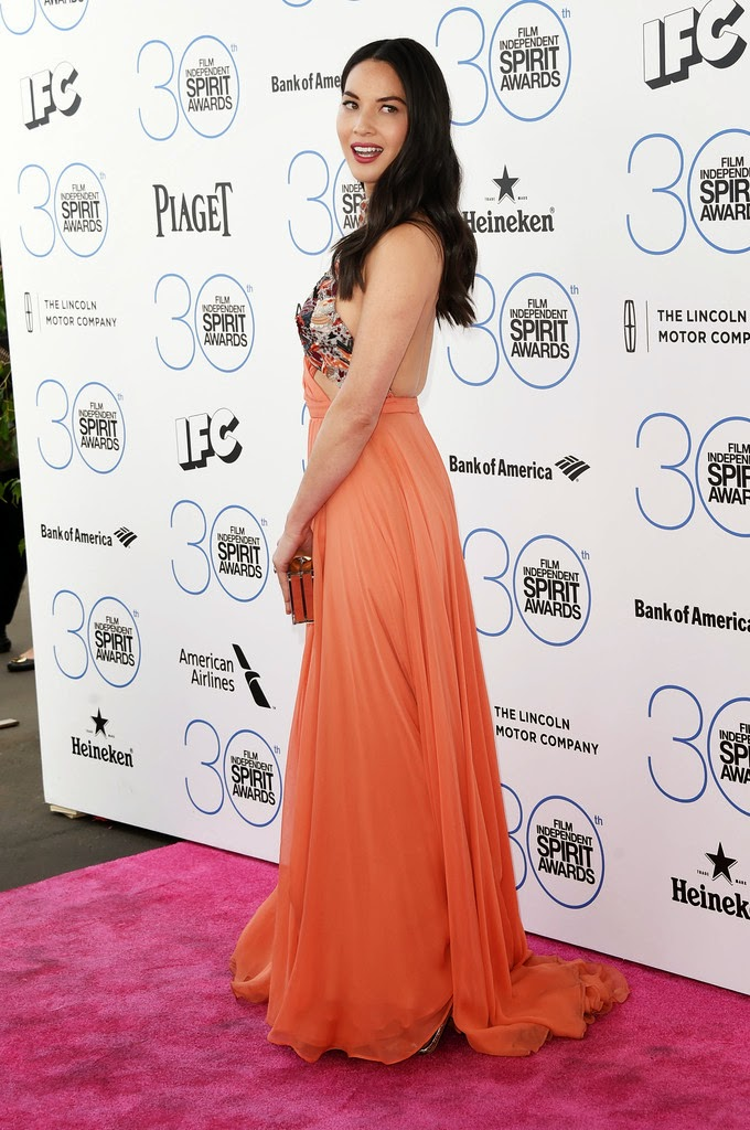 Olivia Munn – 2015 Film Independent Spirit Awards in Santa Monica