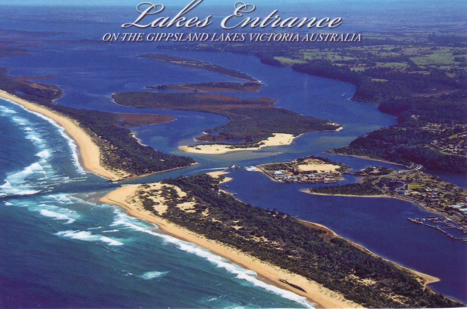 Lakes Entrance Australia  City pictures : The World in Postcards Sabine's Blog: Lakes Entrance, Australia