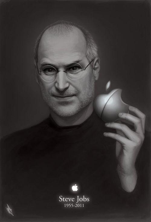 40 Lukisan Steve Jobs yang Mengagumkan - 1955-2011