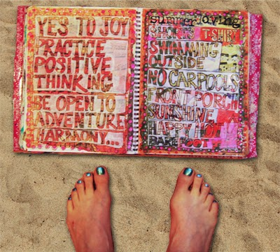 art journal pages by @schulmanArt