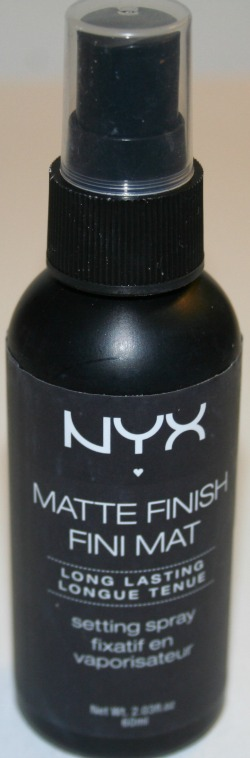 nyx matte setting spray how to use