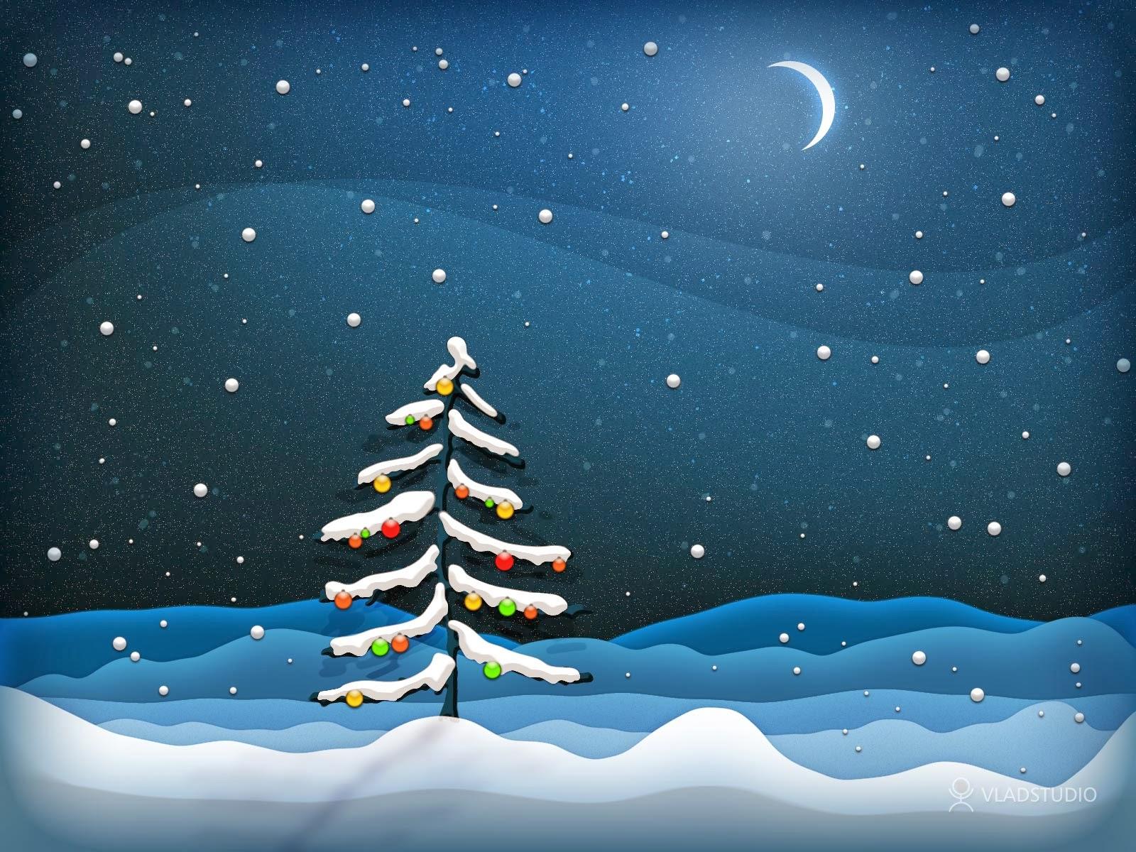 Christmas Tree HD Wallpaper - HD Wallpapers Blog