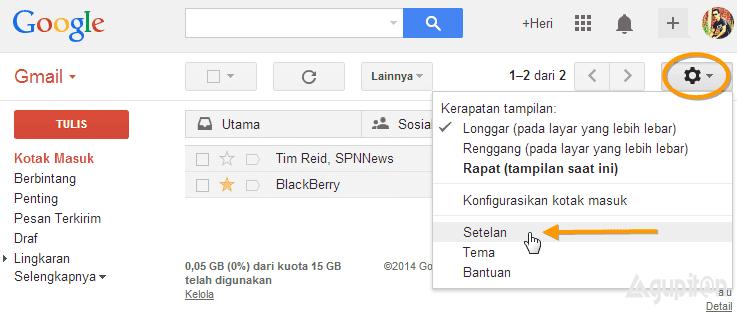 Cara Membatalkan Email yang Terlanjur Terkirim di Gmail