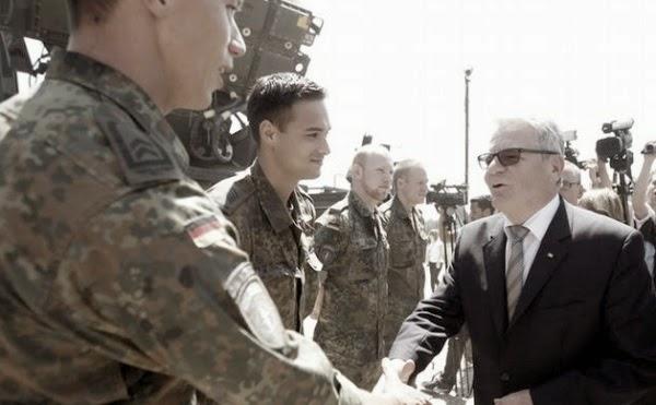 Бундесвер (Вооруженные силы) Германии помог предотвратить распространение сирийского конфликта на территорию Турцию