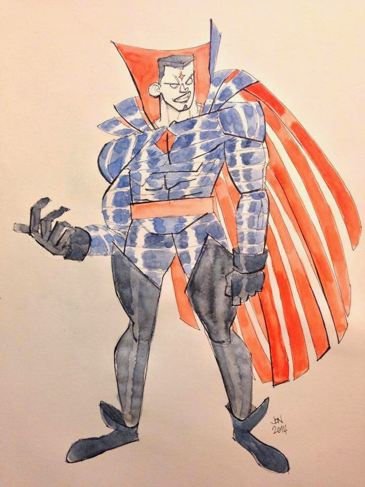 jonathan jon lankry 2D artist animation comic book animated nathaniel essex mister sinister marvel villain x-men