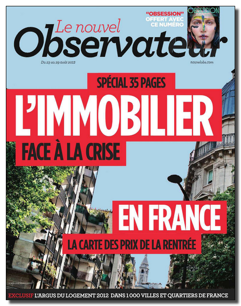 Le Nouvel Observateur N°2494 - 23 au 29 Août 2012 [Lien Direct]