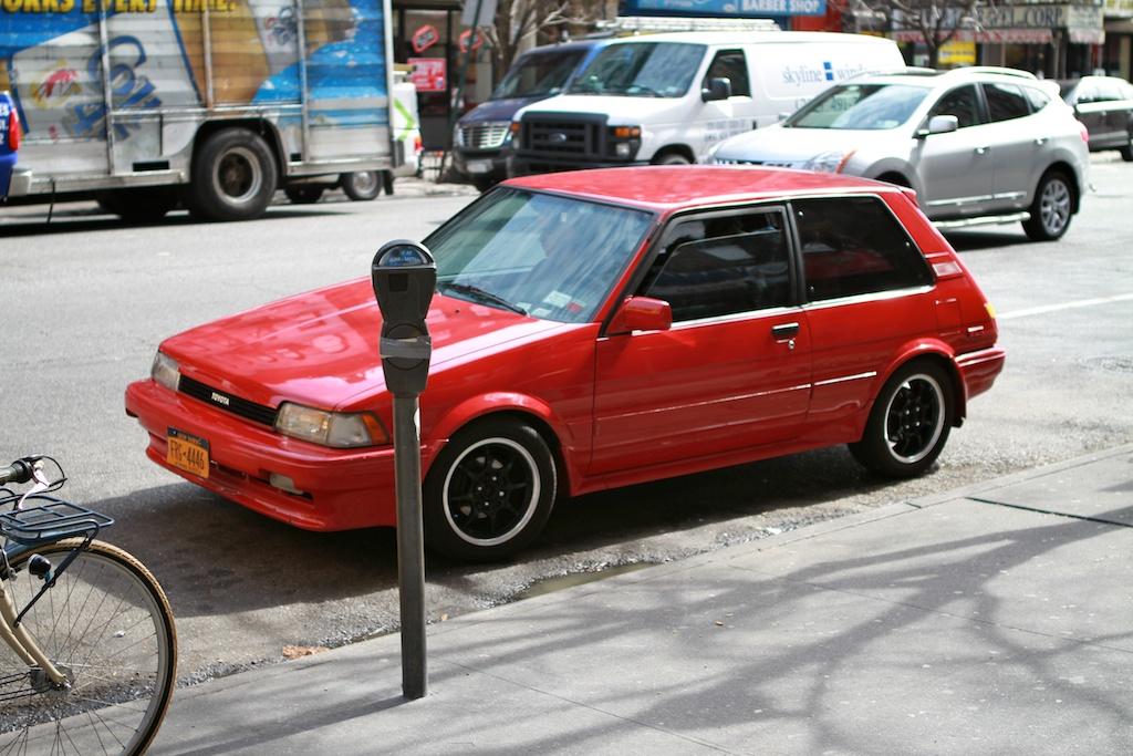 THE STREET PEEP: 1988 Toyota Corolla FX16