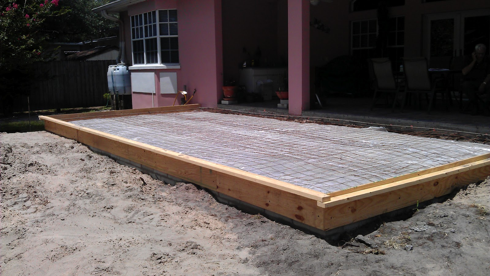New Patio Extension   Overlay/Thin Pavers   Temple Terrace, FL