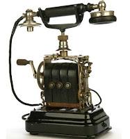 foto de teléfono antiguo
