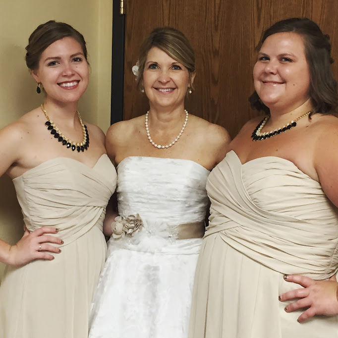 mother daughter bridal party