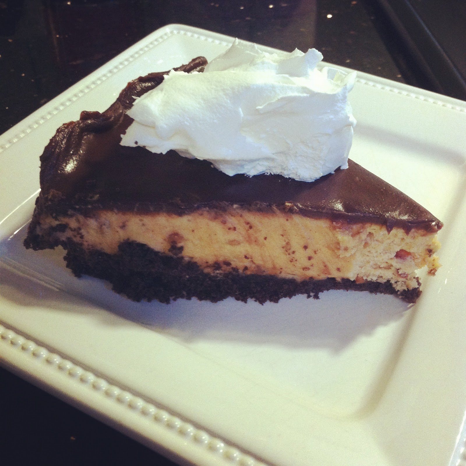 ... bags and dirty diapers: The Best Chocolate Peanut Butter Pie Ever