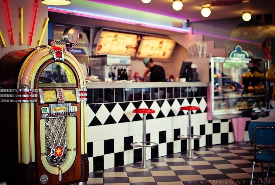 Retro Rock Cafe Menu