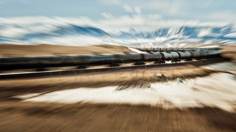 oil train heading to glacier national park across the blackfeet indian reservation