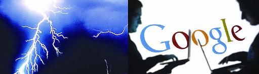 Google loses its data as lightning strikes in Belgium