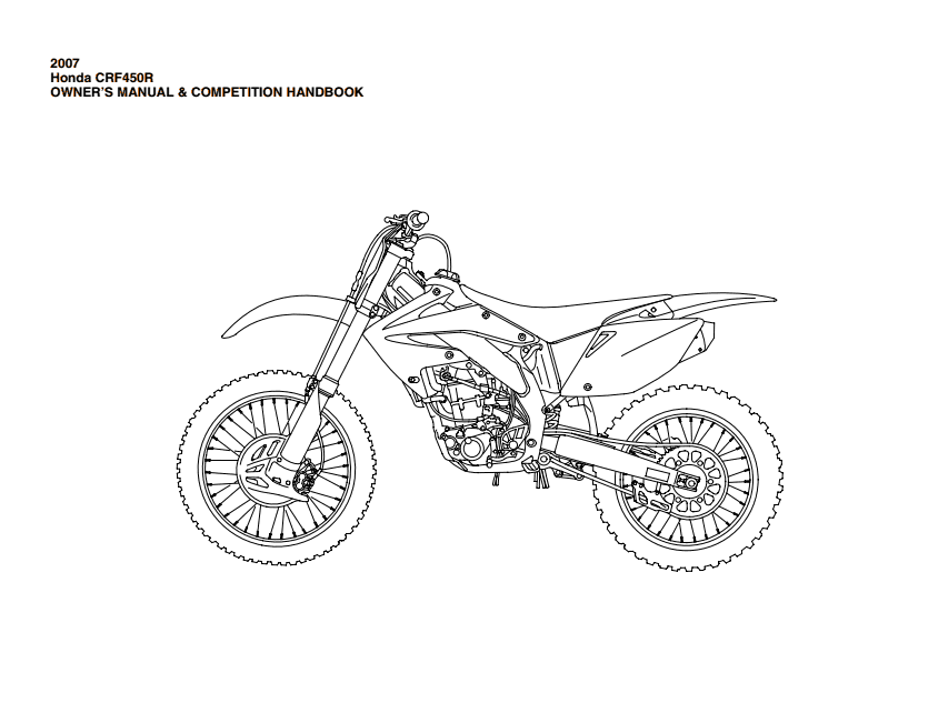 wiring diagrams and free manual ebooks  honda crf50 service manual