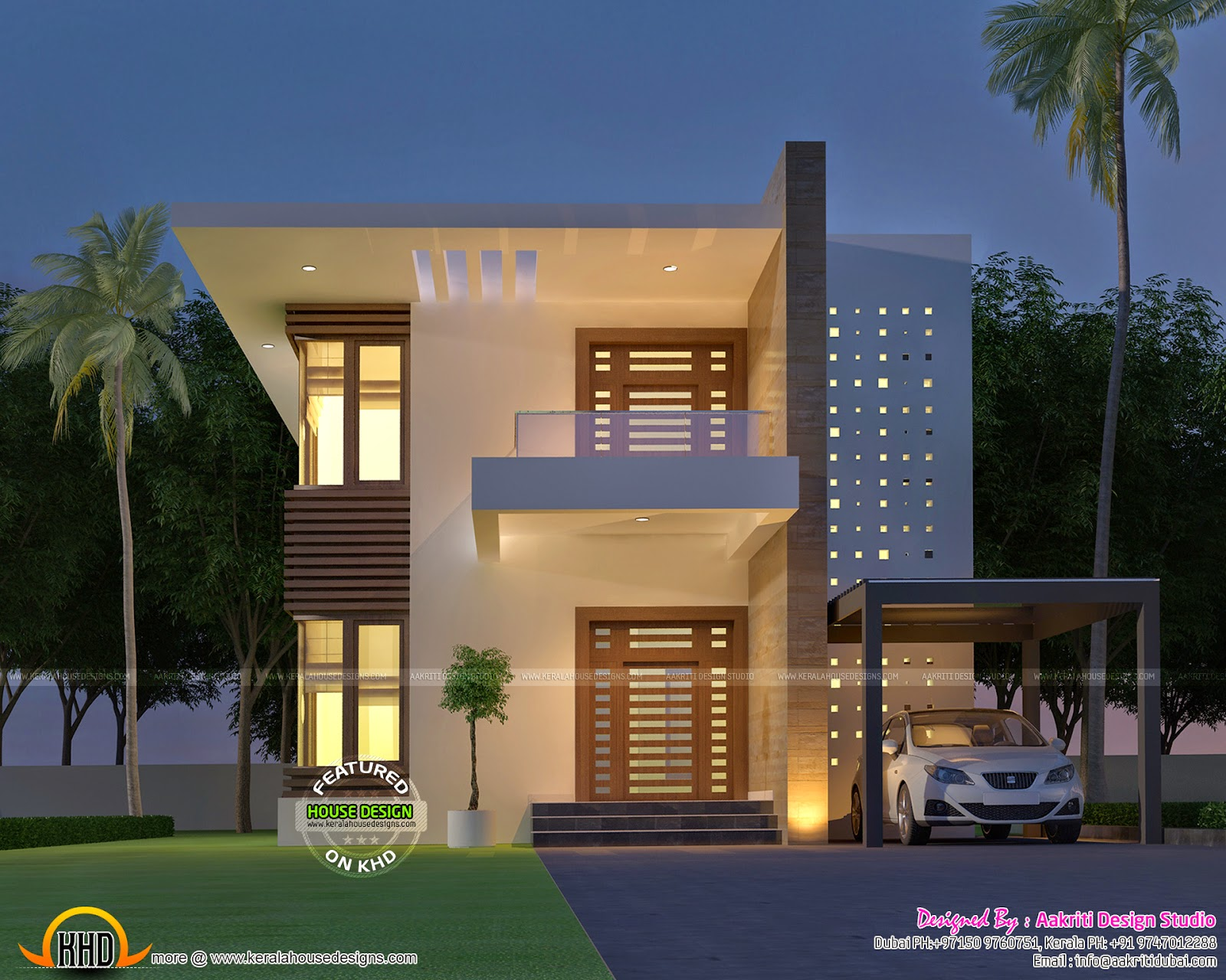 Small double storied 4 bhk house Small