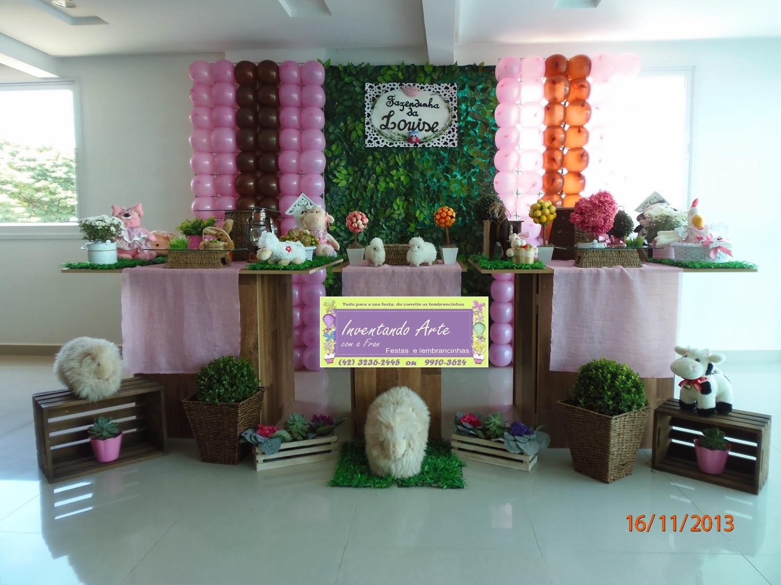 festa decoração fazenda fazendinha