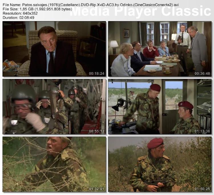 Patos salvajes 1978 | Capturas de pantalla