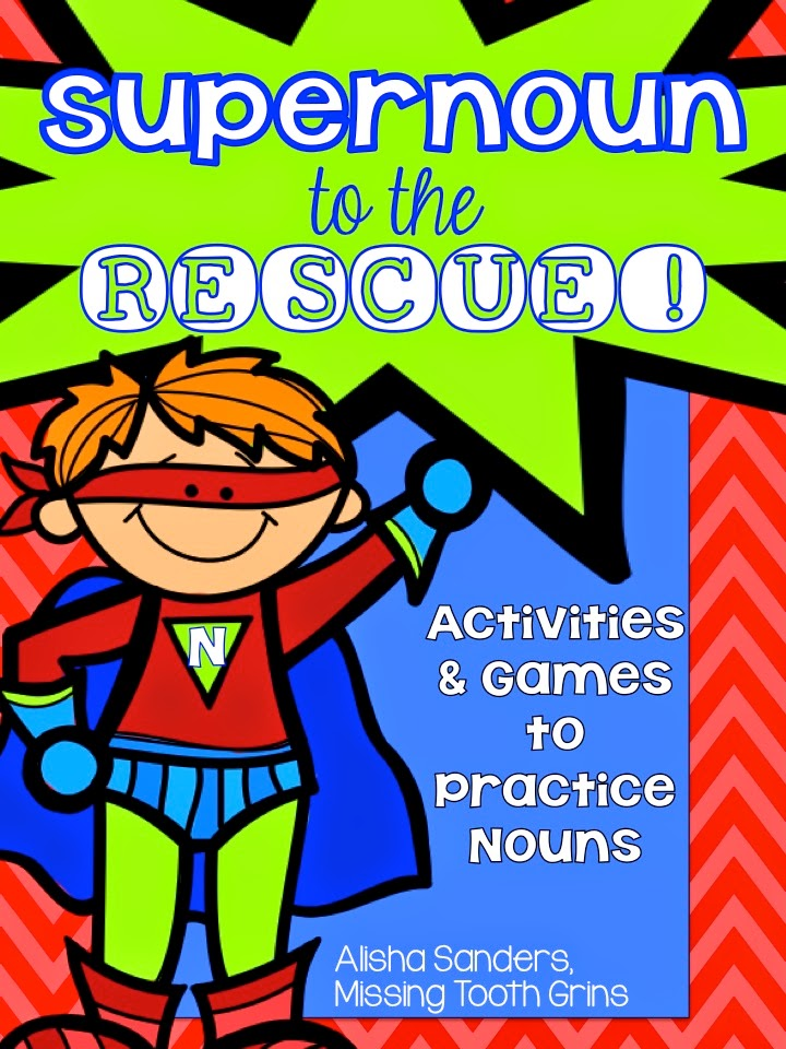 http://www.teacherspayteachers.com/Product/Superhero-Nouns-Games-Activites-to-Practice-Nouns-1204994