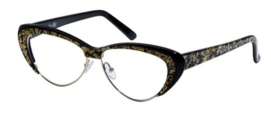 andy wolf 5002 Bettie Page cat eye glasses