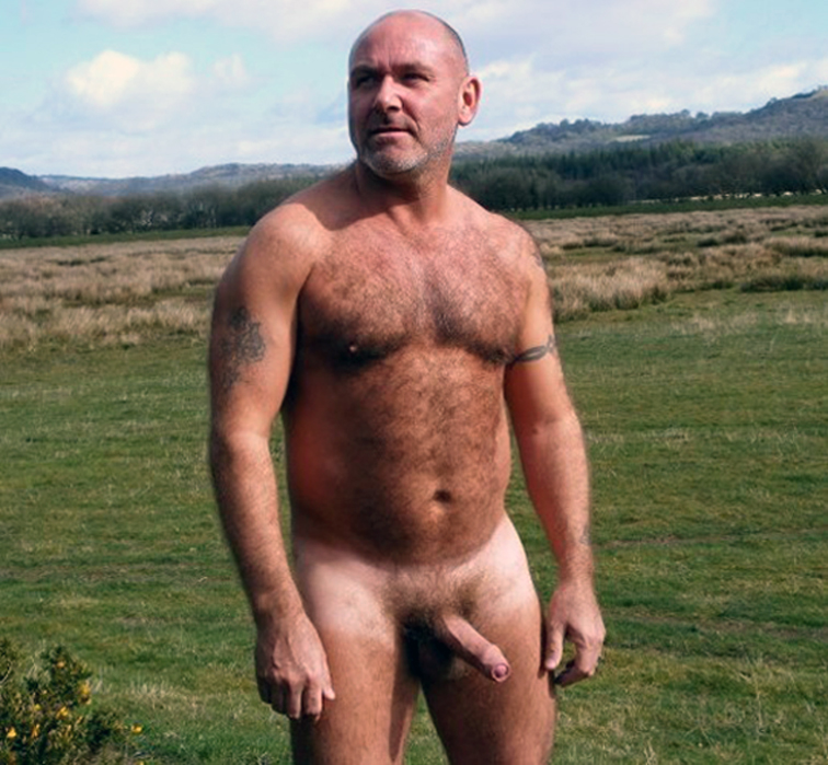 My Hairy Dad Naked