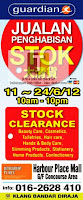 Guardian Stock Clearance Sale
