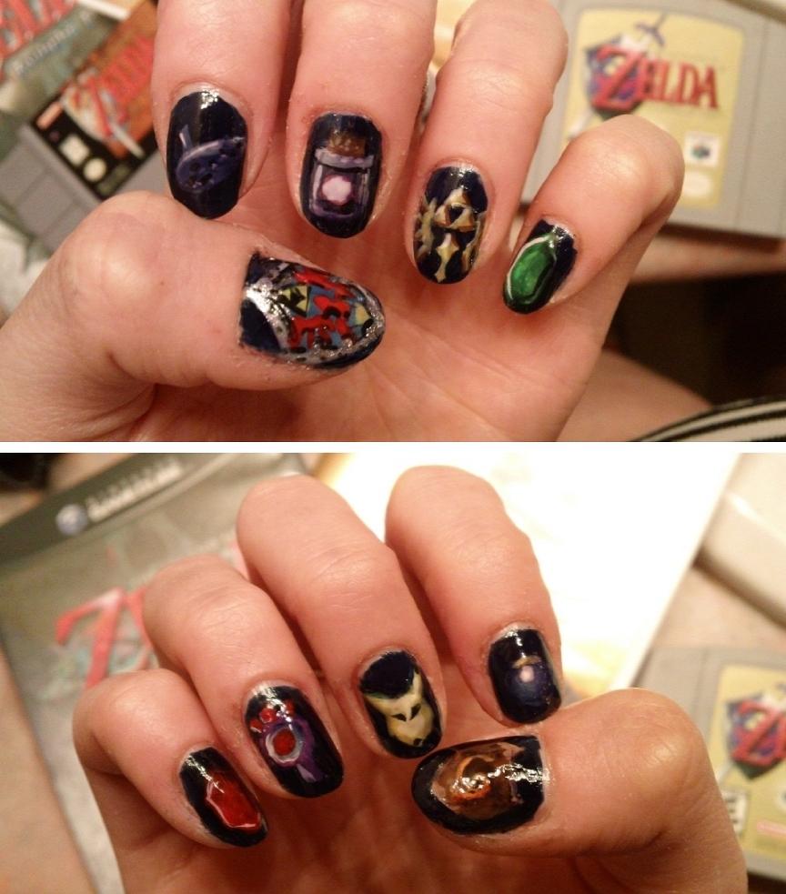 Nail Art Designs Colorful Nail Art Designs