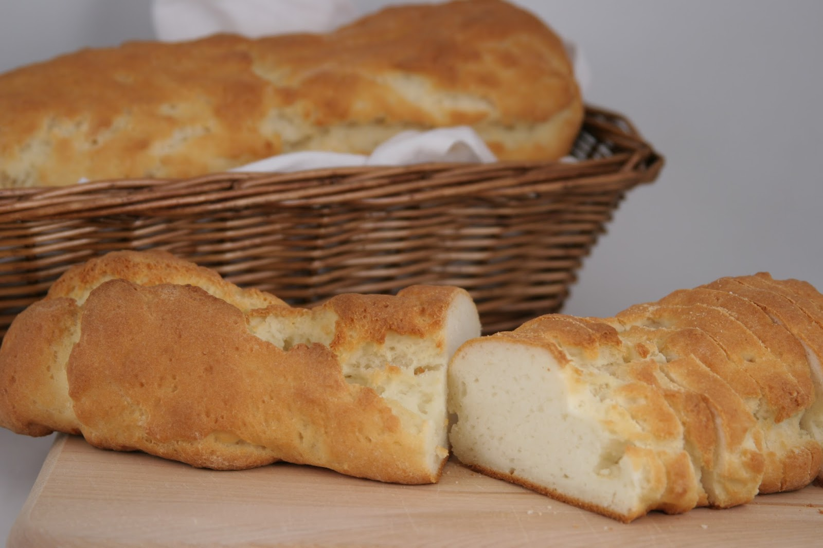 You can also serve a basket of gluten-free French bread for those who ...