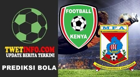 Prediksi Kenya vs Mauritius