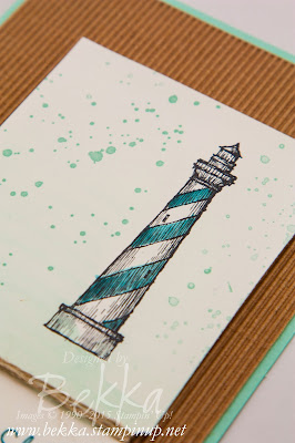 From Land to Sea Lighthouse Congratulations Card