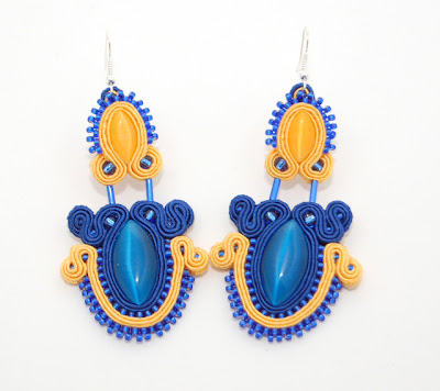 kolczyki sutasz soutache earrings 49