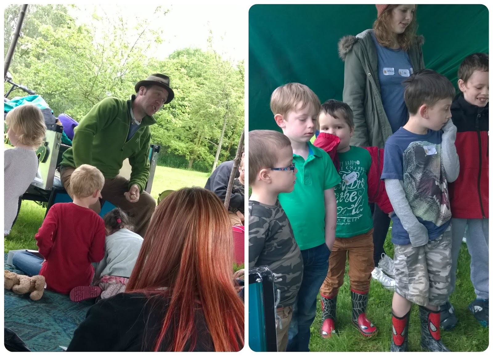 Roberts Bakery 50 Days of Summer Picnic in Delamere Forest Sunshine Sandwich Ian Douglas Storyteller