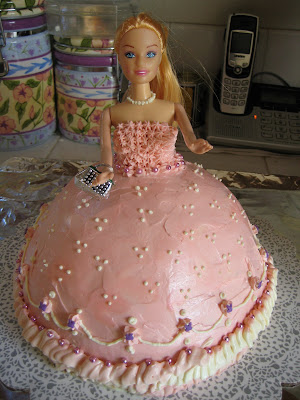 Barbie Princess Cakes