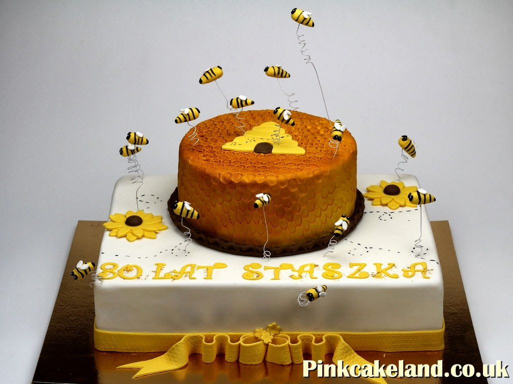 Bees Birthday Cake - London
