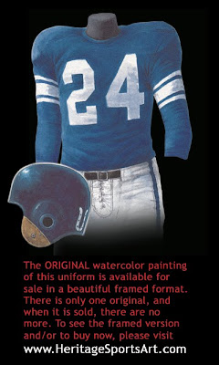 Baltimore Colts 1954 uniform - Indianapolis Colts 1954 uniform