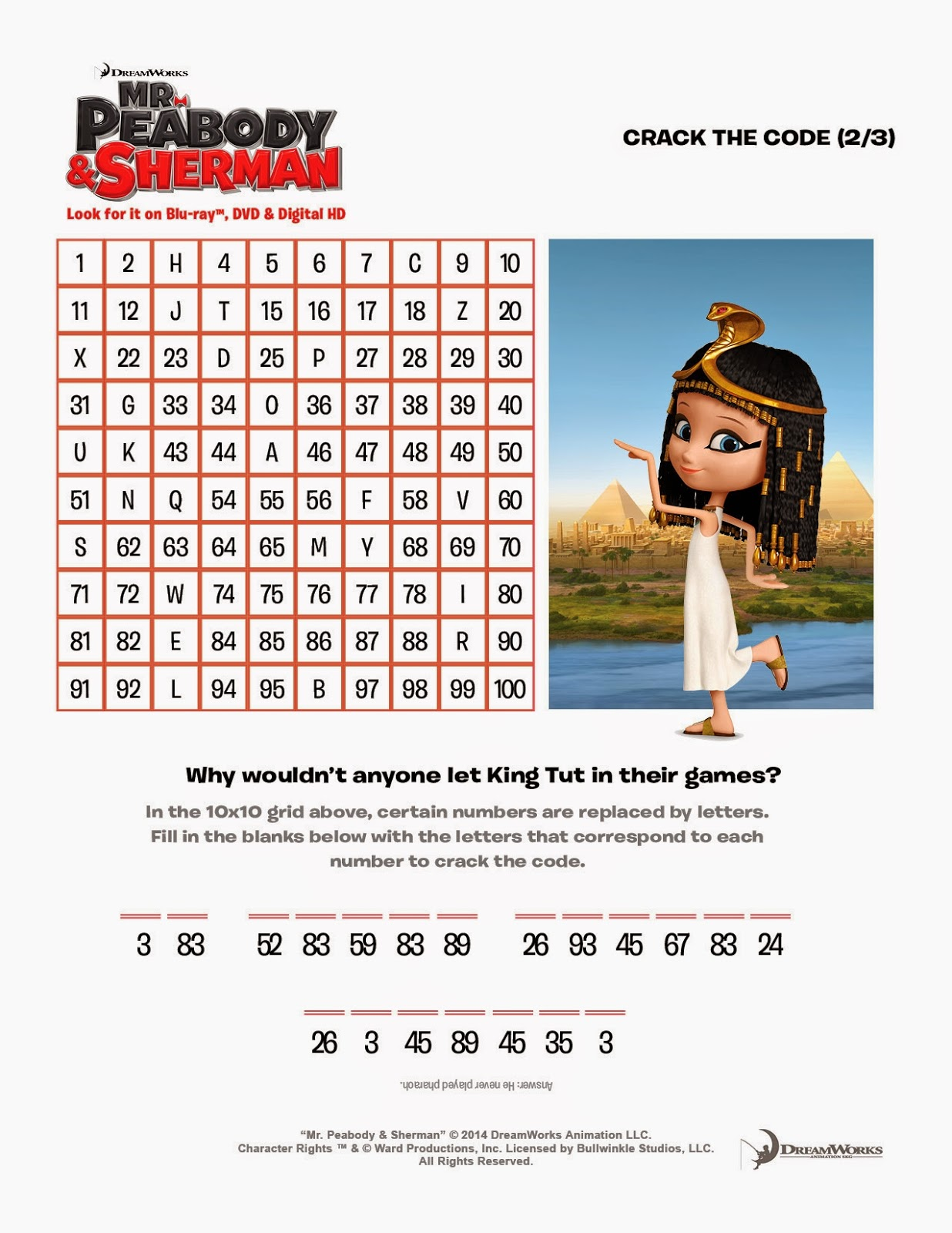 Hanging Off The Wire: Mr. Peabody & Sherman #Giveaway with ...