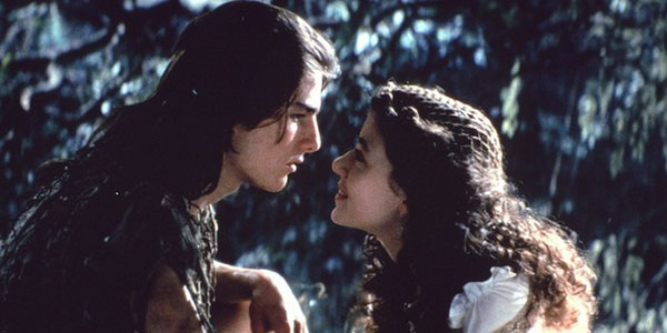 Tom Cruise and Mia Sara in Legend
