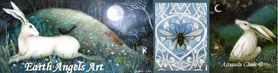 Earth Angels Art. Art and Illustrations by Amanda Clark