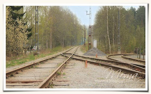 Malmköpings camping, järnväg