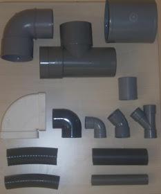 Tubos y piezas PVC