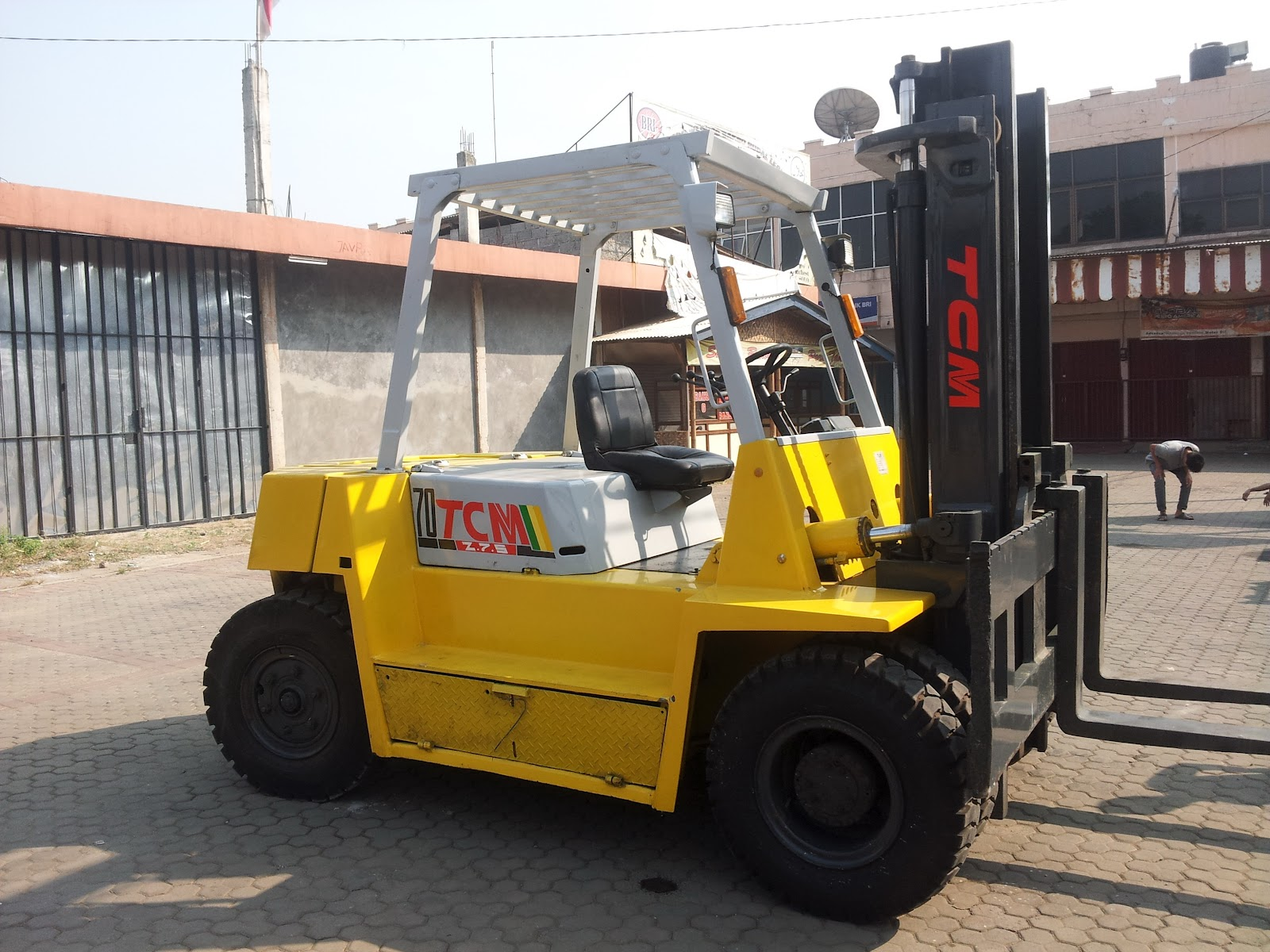 JUAL FORKLIFT TCM 5 TON Sold Out