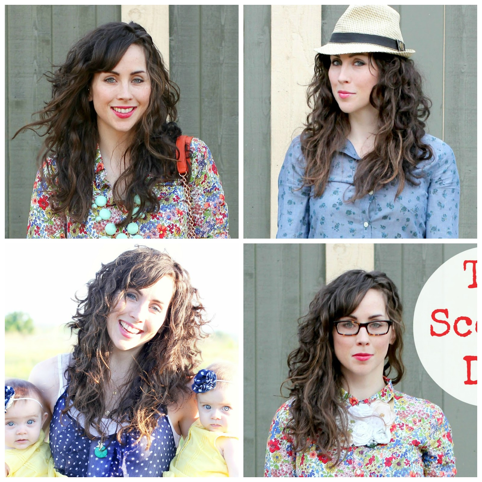 Try It Tuesday How I Style My Curly Hair M Is For Mama