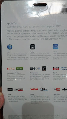 You can stream movies and shows from Netflix, Hulu Plus, and other apps using the Apple TV