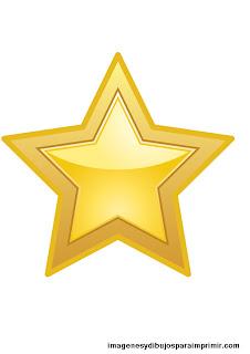 estrella para imprimir gratis
