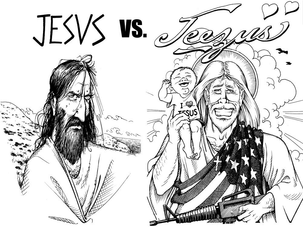 Biblical Jesus and Fad Jesus (Jeezus)