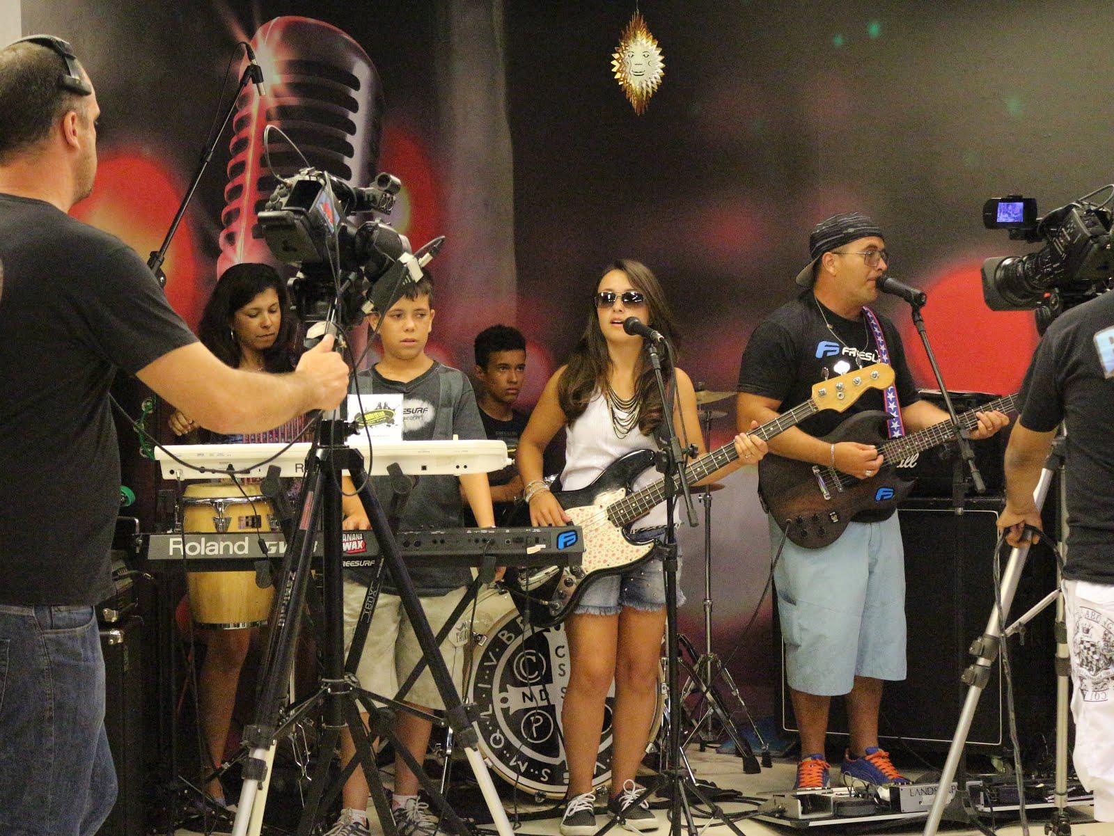 Surfistas da Paz no Programa Bibo Nunes Show.