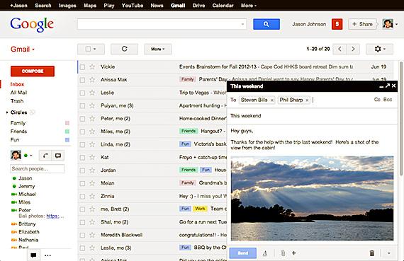 Iata cum arata si cum functioneaza noul design Gmail al ferestrei de redactare a mesajelor email