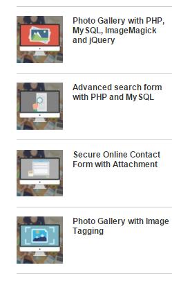 Recent Post Sidebar Widget com Thumbnails