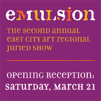 Emulsion Regional Juried Art Show - Saturday, March 21 - 28