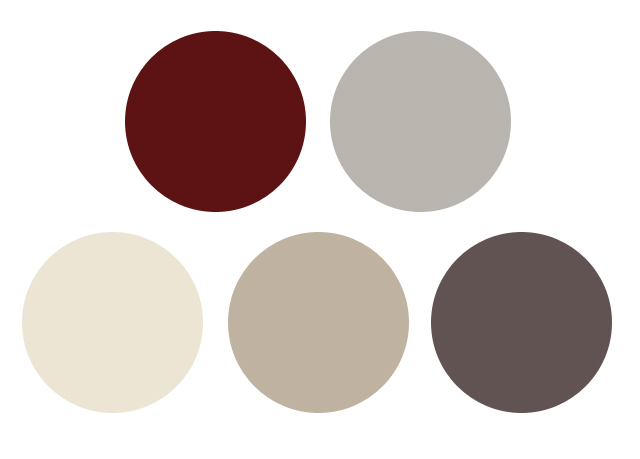 Hansoexcited - Maroon and grey color scheme ...